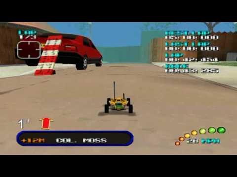 Re-Volt (Nintendo 64) Gameplay
