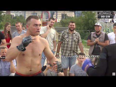 БОЕЦ ЛСД  против Бойца ММА  Веселый бой  - DomaVideo.Ru