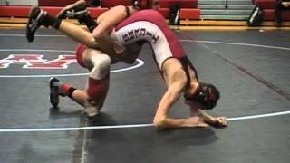 Brett Shull (Odessa) vs. Lonnie Kendrick (Warrensburg) 126 lbs