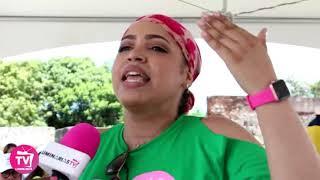 Juliana Oneal reaparece en Caminantes por la Vida, dice que ya prepara más música