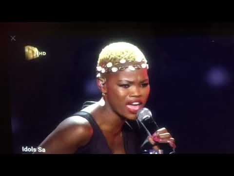 """Qwabe Twin: Virginia  Solo performs """"Themba""""  Idols S15"""