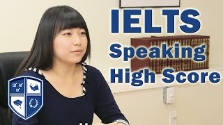 IELTS Speaking High Score