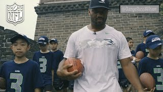 Watch Seattle Seahawks quarterback Russell Wilson lead youth in running the Great Wall of China. Subscribe to NFL: http://j.mp/1L0bVBu Start your free trial ...