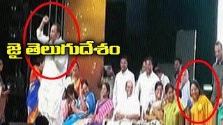 జై తెలుగుదేశం, MP Malla Reddy Tongue Slip Before Kavitha   TV5 News