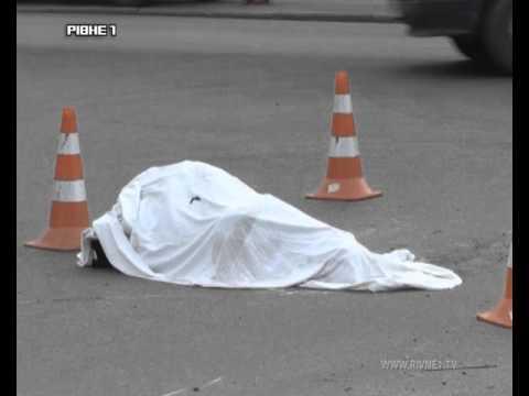 У Рівному КАМАЗ на смерть збив жінку [ВІДЕО]