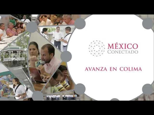 México Conectado avanza en Colima