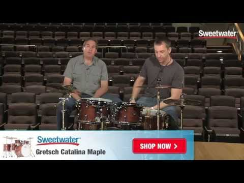 Gretsch Drums Catalina Maple Drum Kit Demo - Sweetwater Sound