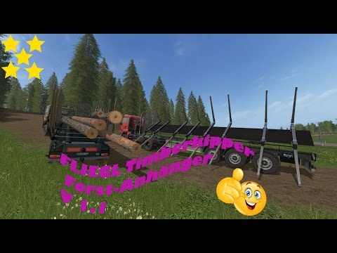 FLIEGL Timberkipper Wood Trailer v1.0