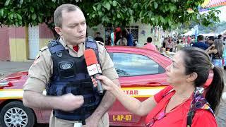 Comandante do Corpo de Bombeiros em Sousa fala sobre prevenções no Carnaval no Sertão, e orienta folião