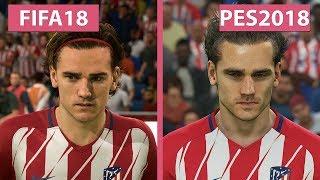So sánh PES 2018 vs FIFA 18 - 'Khuôn mặt của các cầu thủ'