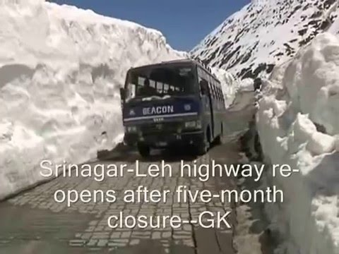Srinagar-Leh Highway Re-opens For Traffic After Five Months
