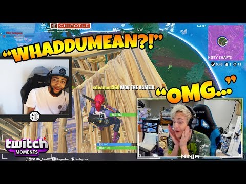Ninja Reacts to Fortnite Funny Fails and WTF Moments! Twitch Moments Reaction Ep. 188