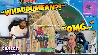 Ninja Reacts to Fortnite Funny Fails and WTF Moments! (Twitch Moments Reaction Ep. 188)