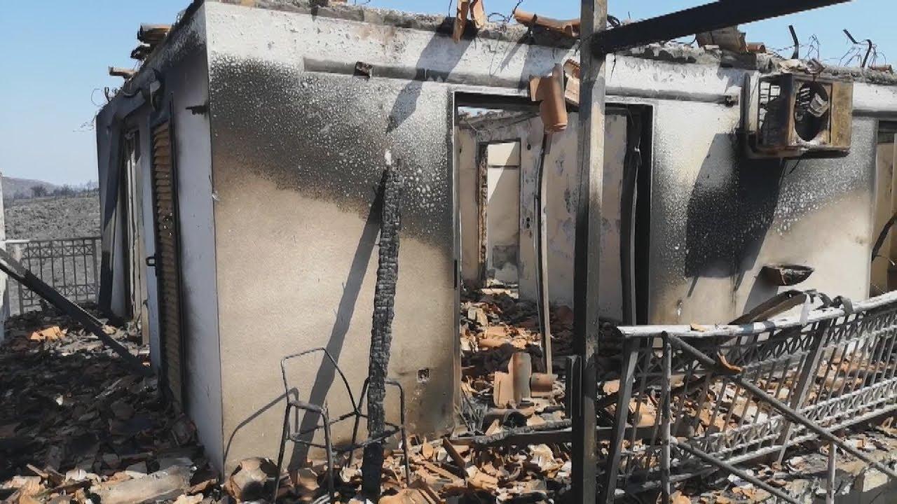 Η επόμενη μέρα μετά την πυρκαγιά στο Κερί Ζακύνθου