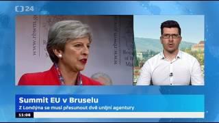 Summit EU v Bruselu: Lídři EU budou řešit vývoj jednání o brexitu