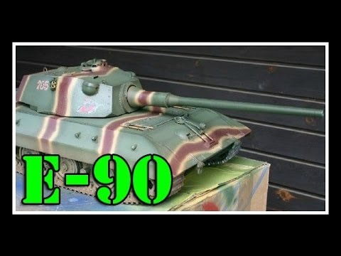 E-90 - Немецкий Тяжелый Танк