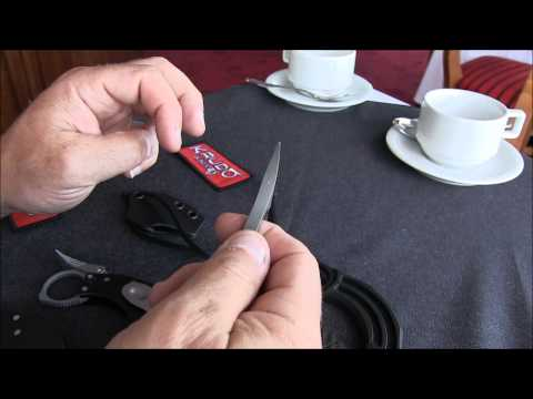 "Krudo Knives Nano Fixed Blade Knife (2"" Bead Blast Plain)"