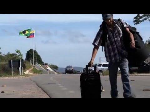 Εγκαταλείπουν την Βενεζουέλα για την Βραζιλία