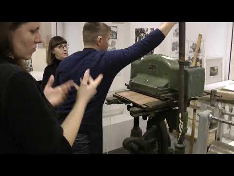 Галактионова Т.Н. Особенности организации практических занятий с глухими студентами по изготовлению эстампа