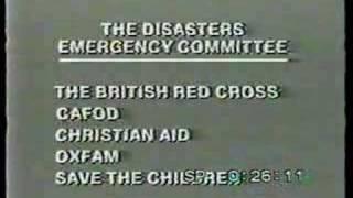 'Ethiopia' DEC Appeal, Cliff Michelmore, 1989, BBC