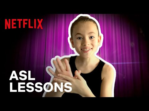 ASL Lesson with Shaylee | Feel the Beat | Netflix Futures