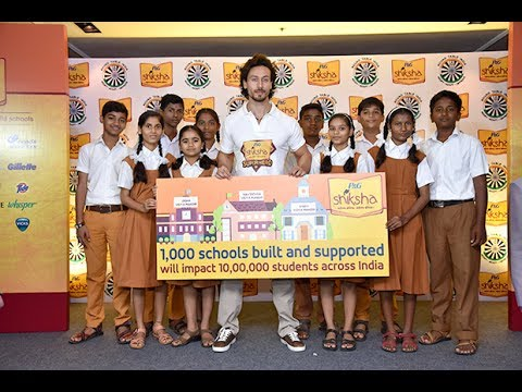 Tiger Shroff Lends Support To P&G's 'Shiksha Superheroes' Campaign