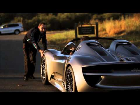 Porsche 918 Spyder   Hybrid Super Car | Test Drive Video