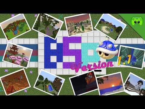 MINECRAFT Adventure Map # 1 - Blue Shell Parkour «» Let's Play Minecraft | HD