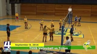 TVHS Volleyball vs. Triton Trojans