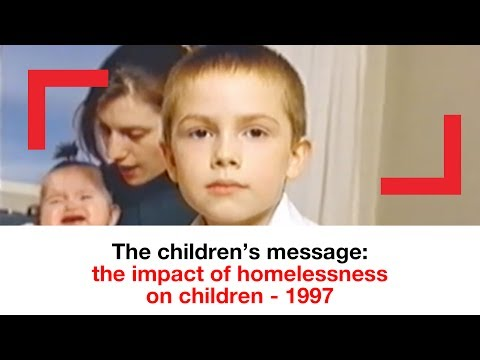The children's message: the impact of homelessness on children-  1997 | archive | Shelter