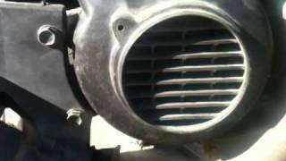 4. skrammel i motorn på Kymco Fever ZX -02