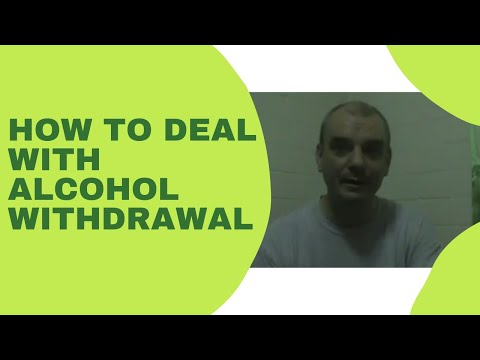 how to treat alcohol withdrawal