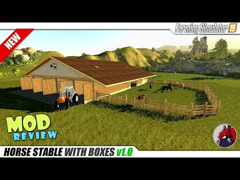 HORSE stable WITH BOXES v1.0