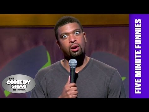 DeRay Davis⎢Women are liars!⎢Shaq's Five Minute Funnies⎢Comedy Shaq