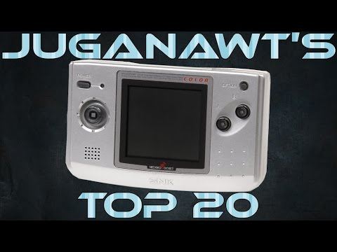 Top 20 Neo Geo Pocket Color (NGPC) Games of all Time! (HD 1080p 60 FPS)