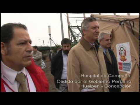 Embajador peruano en Chile visitó a compatriotas afectados por terremoto en ciudad de Concepción
