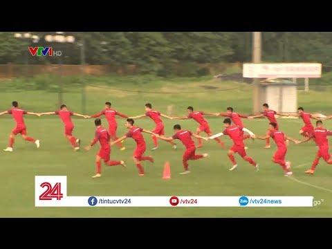 U23 Việt Nam cười thả ga với bài tập