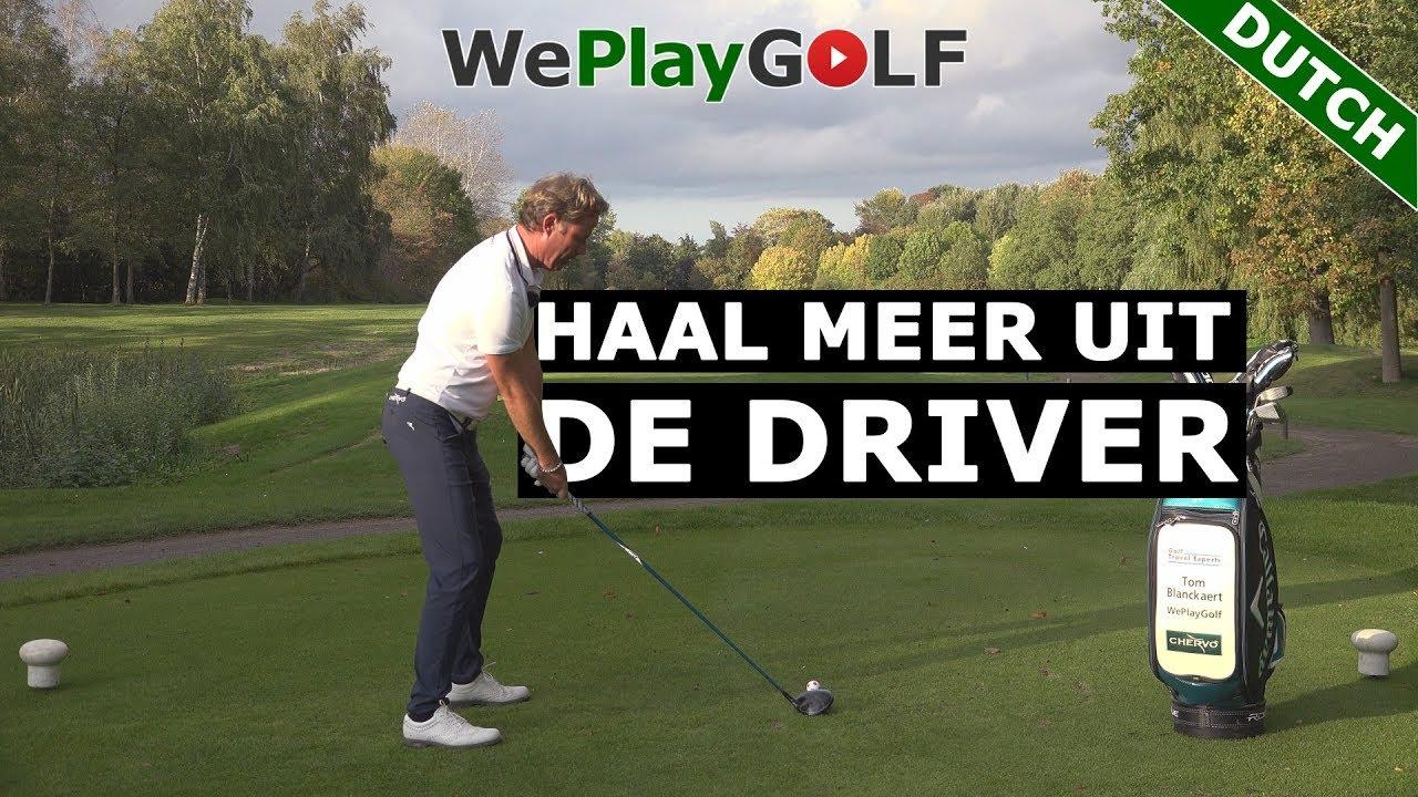Golf met de DRIVER: Tips voor een betere swing en meer afstand