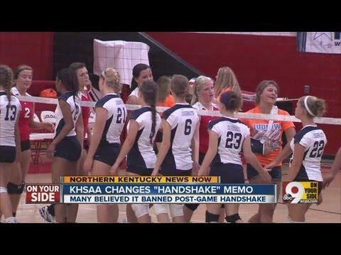 Ky. sports handshake preserved