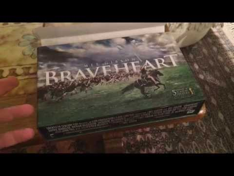 Braveheart Limited Edition Gift Set - Collector Blu-Ray DVD Review! Mel Gibson! William Wallace!