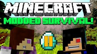 Dungeon Adventure [Minecraft Modded Survival: Episode 11]