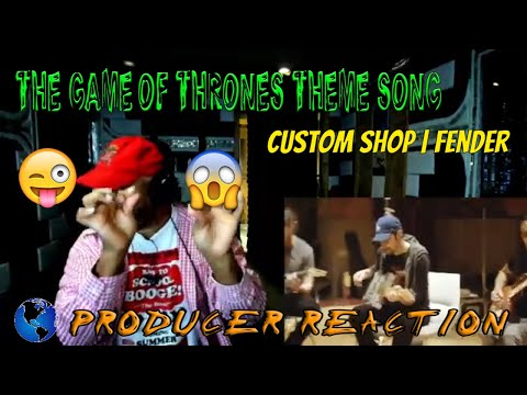 The Game Of Thrones Theme Song | Custom Shop | Fender - Producer Reaction