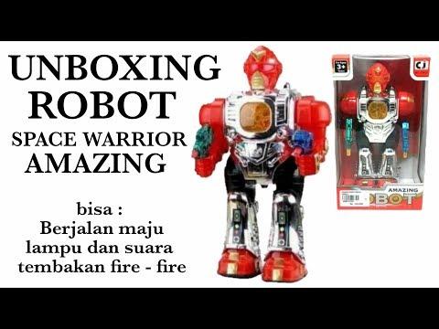 Mainan Anak ROBOT WARRIOR AMAZING