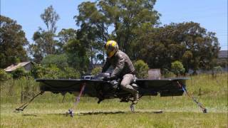 Dec 20, 2015 ... Australian built Hoverbike prepares for takeoff ... Guy who doesn't know what he's ndoing builds working hoverbike - Duration: 1:20. New York ...