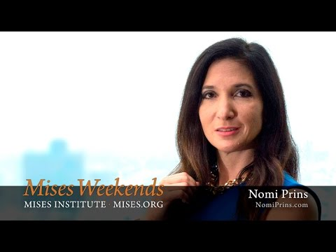 Nomi Prins: The Left/Progressive Case Against the Fed