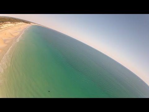 Unidentified - chucked the epp fpv plane up for a quick flight this morning and whilst reviewing the footage saw something in the water that required further looking at to ...