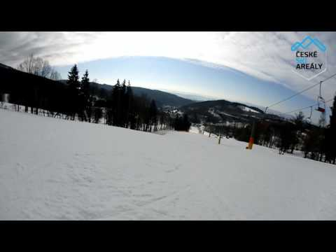 Ski Černý Důl červená 1C 2016