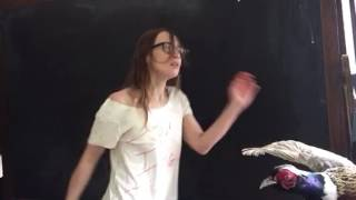 Fiona Apple dancing to Darondo 'Didnt I' (with her dog)
