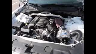 2014 Dodge Charger SRT8 Procharger Supercharger & ARH Long Tube Headers