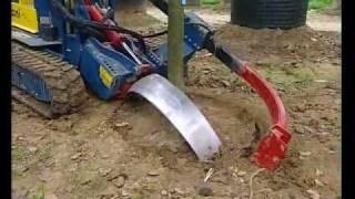 Машина для пересандки деревьев с комом Pazzaglia FZ 200.mp4